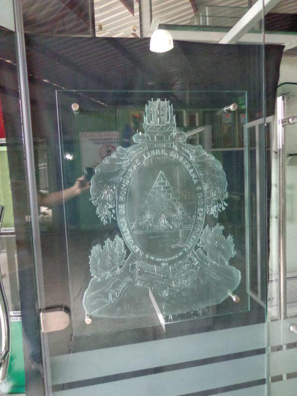 vidrios arenados tegucigalpa