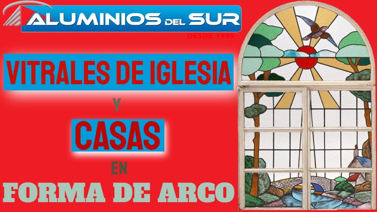 Vitrales de iglesias y casas en forma de arco - religiosos-fáciles-Góticos para puertas de honduras