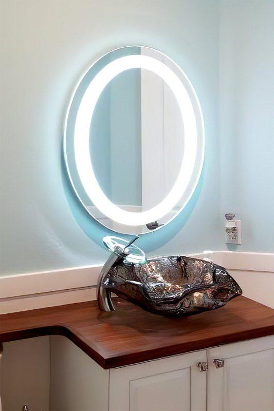 espejos luz led