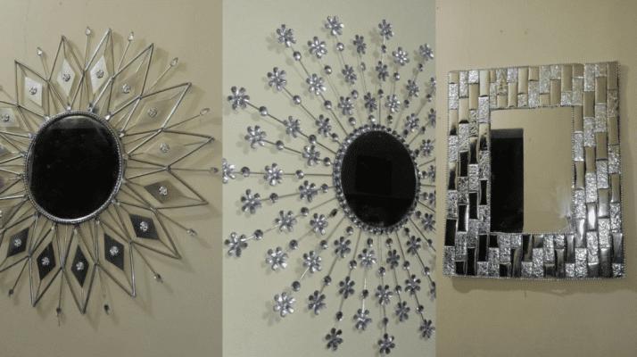 3 increibles espejos - 3 amazing mirrors - ¿Cómo elijo uno o varios espejos decorativos para sala