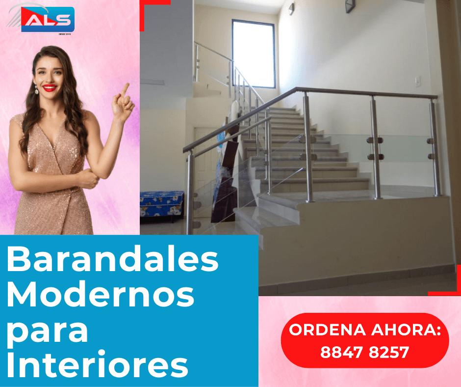 Ideas para fabricar Pasamanos barandas y escaleras de madera & acero inoxidable en Tegucigalpa Honduras