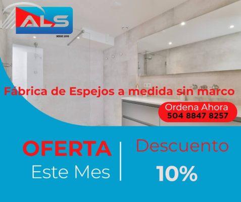 Fábrica-de-Espejos-a-medida-sin-marco-en-Tegucigalpa-2022-Tienda-de-espejos-ovalados-para-baño-en-24-horas